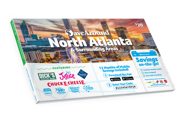 North Atlanta & Surrounding Areas, GA 2020 SaveAround<sup>®</sup> Coupon Book