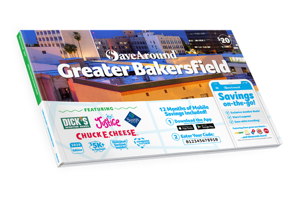 Greater Bakersfield, CA 2020 SaveAround® Coupon Book