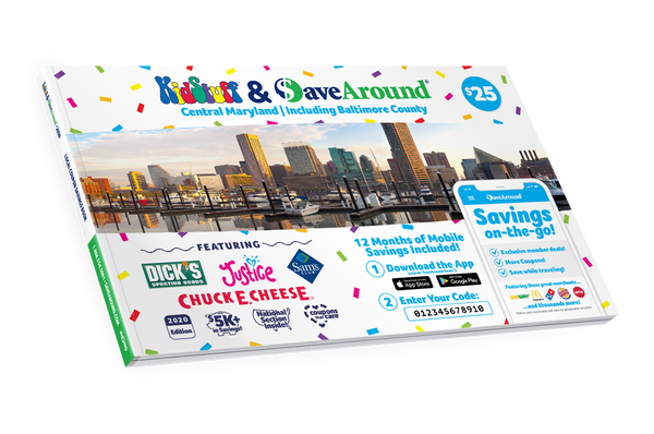 Greater Baltimore, MD 2020 SaveAround® Coupon Book