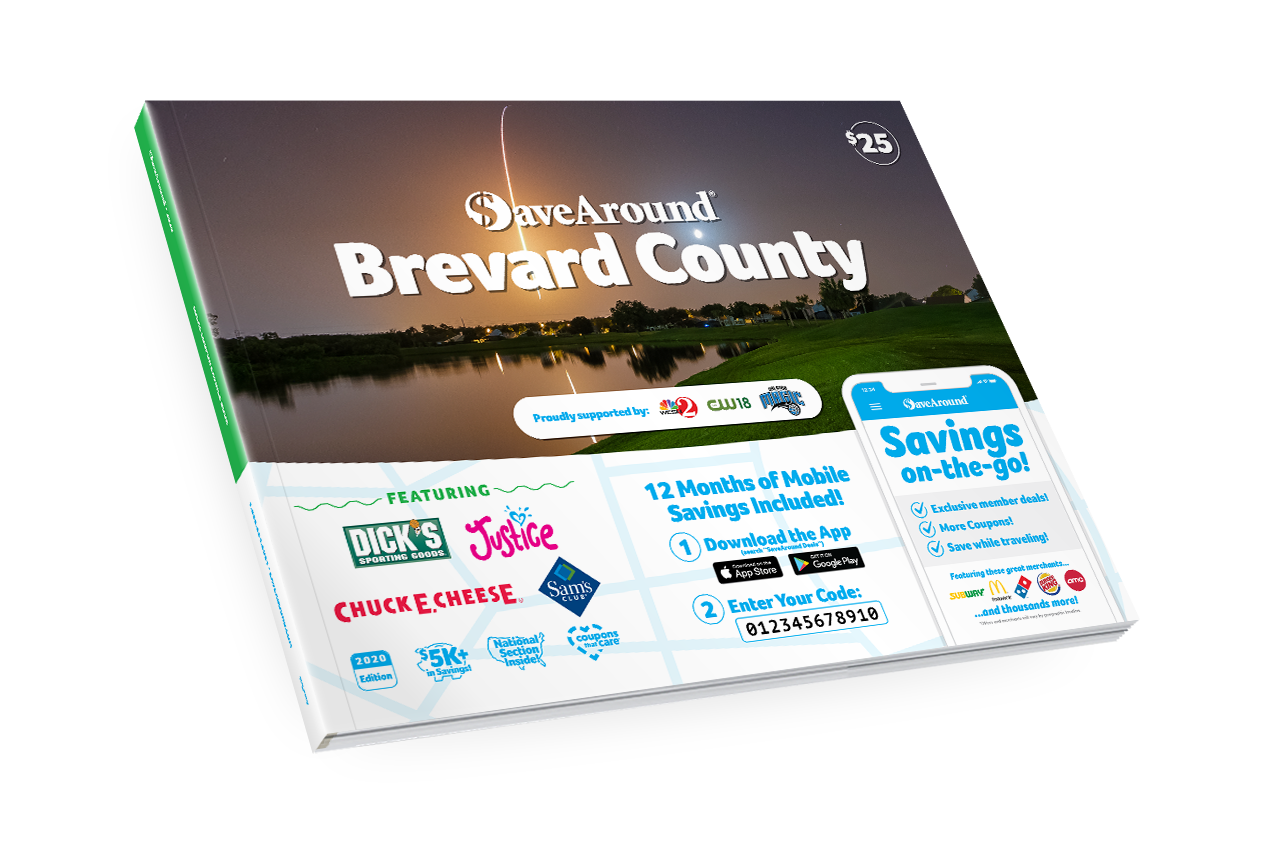 Brevard County, FL 2020 SaveAround<sup>®</sup> Coupon Book