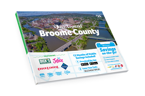 Broome County, NY 2020 SaveAround® Coupon Book