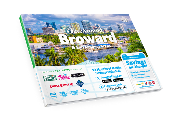 Broward & Surrounding Areas, FL 2020 SaveAround® Coupon Book