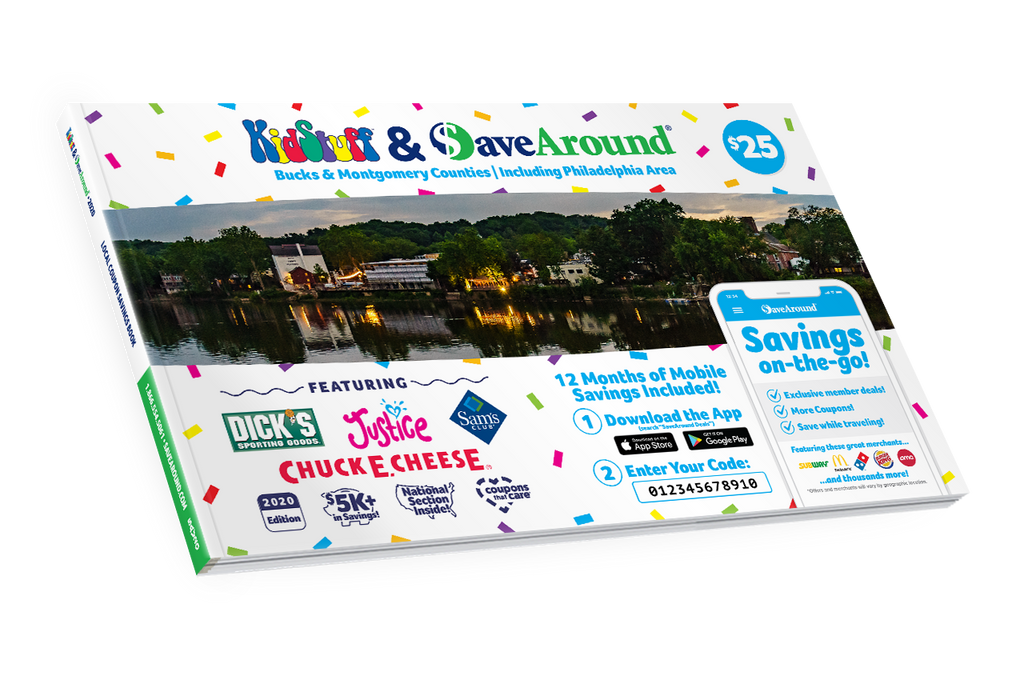 KidStuff<sup>™</sup> & SaveAround<sup>®</sup> Coupon Books