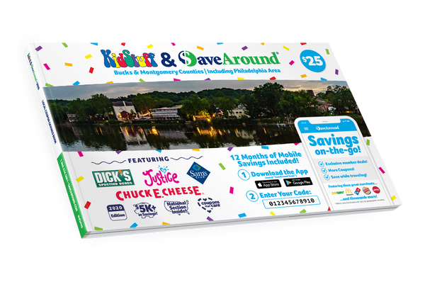 Bucks & Montgomery Counties, PA 2020 SaveAround® Coupon Book