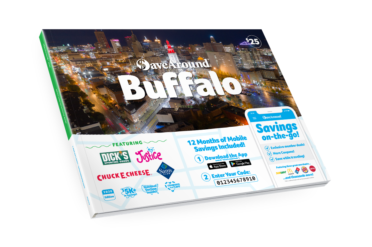 Buffalo, NY 2020 SaveAround<sup>®</sup> Coupon Book