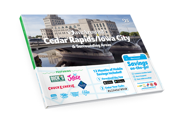Cedar Rapids/Iowa City, IA 2020 SaveAround® Coupon Book