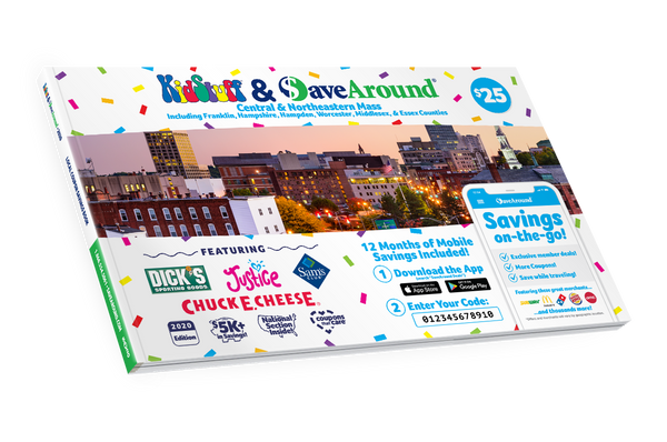 Worcester, MA 2020 SaveAround® Coupon Book