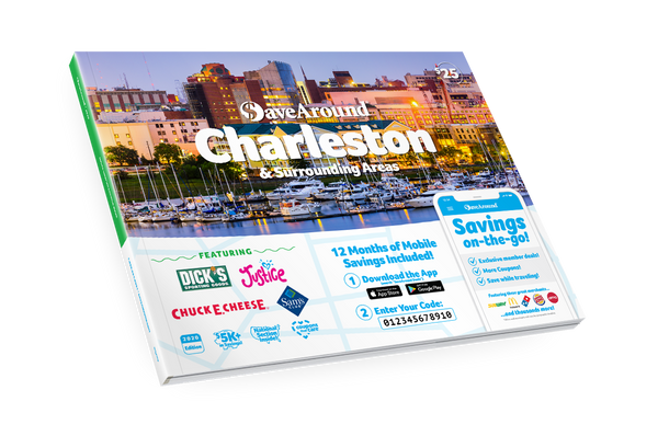 Charleston & Surrounding Areas, SC 2020 SaveAround<sup>®</sup> Coupon Book