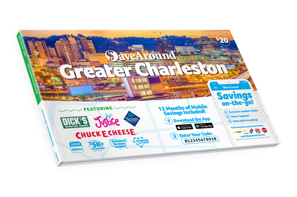 Greater Charleston, WV 2020 SaveAround<sup>®</sup> Coupon Book