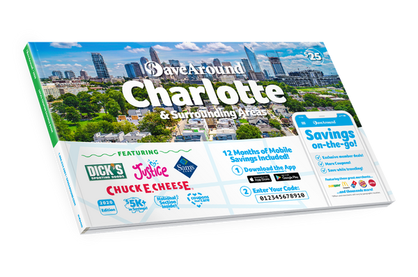 Charlotte & Surrounding Areas, NC 2020 SaveAround<sup>®</sup> Coupon Book