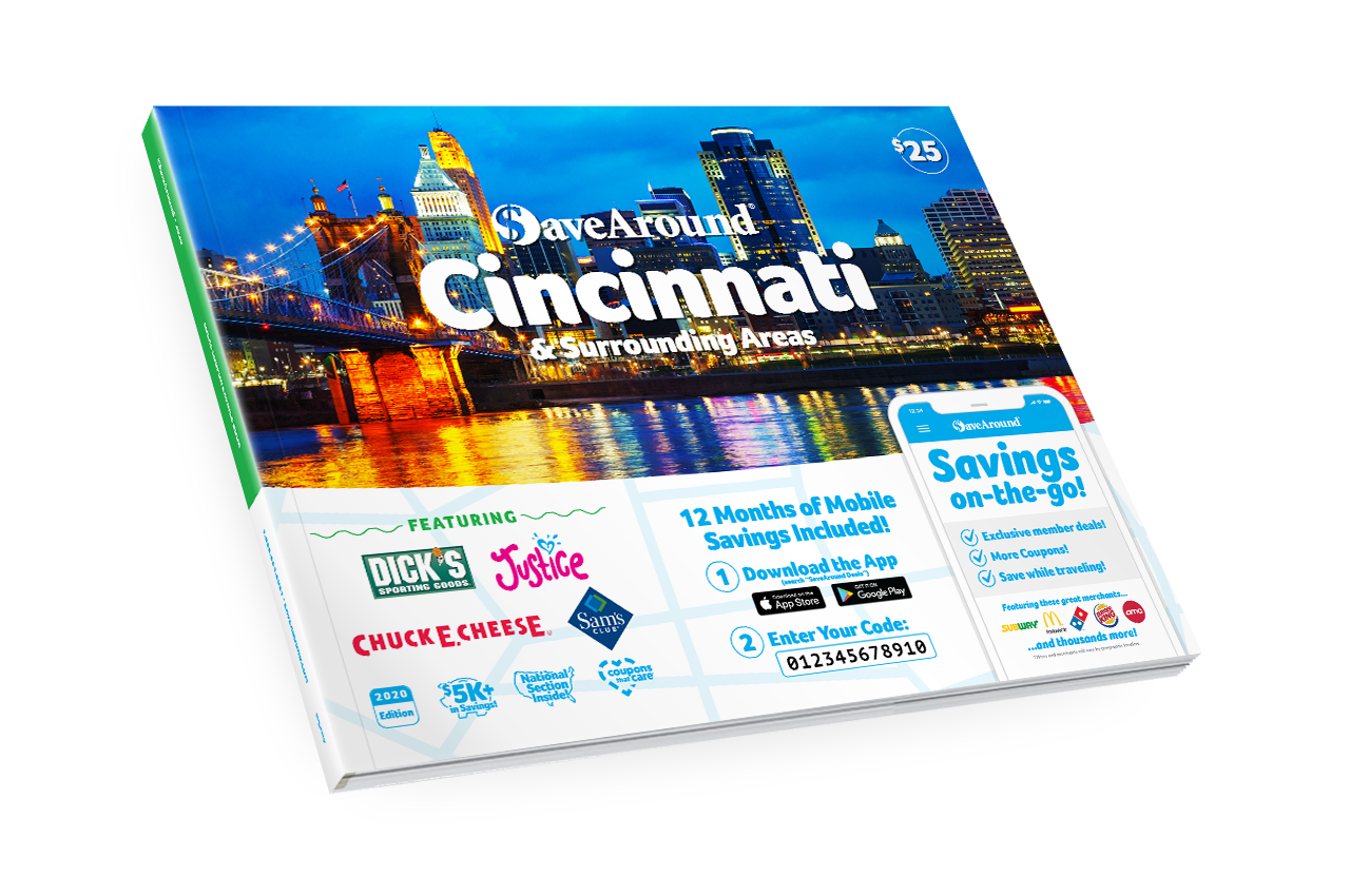 Cincinnati, OH 2020 SaveAround® Coupon Book