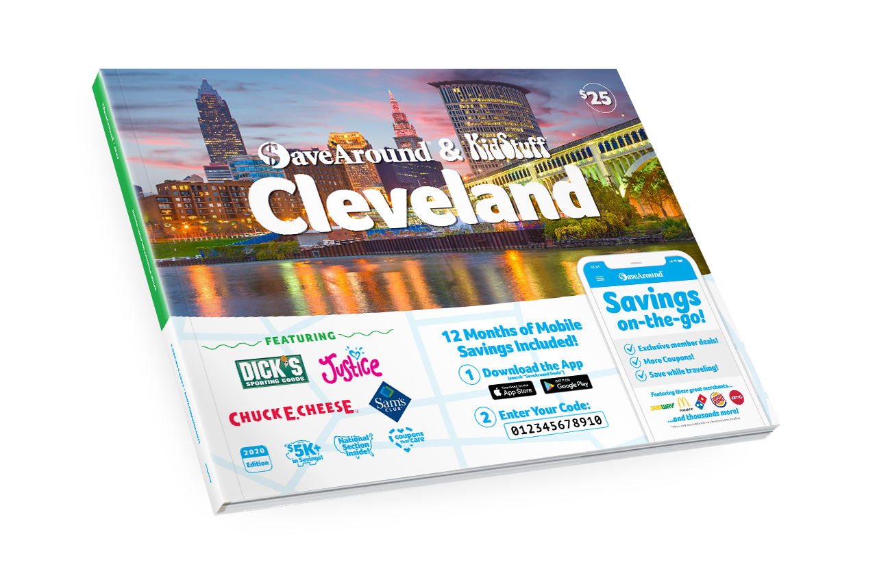 Cleveland, OH 2020 SaveAround® Coupon Book