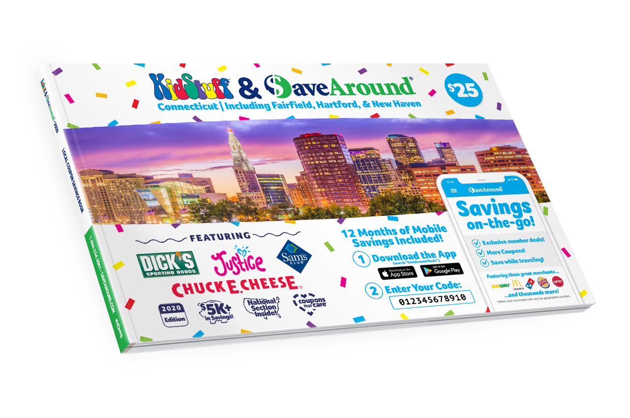 Greater Hartford, CT 2020 SaveAround® Coupon Book