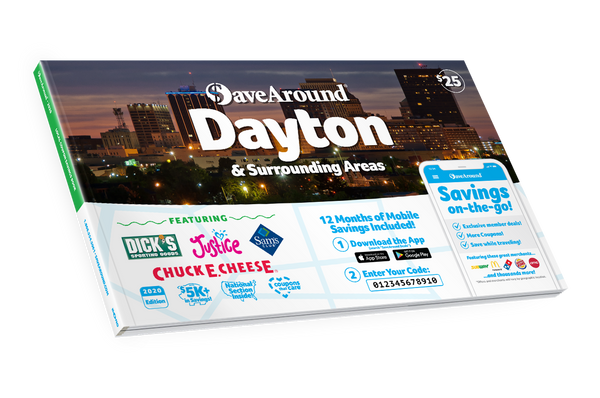 Dayton & Surrounding Areas, OH 2020 SaveAround® Coupon Book