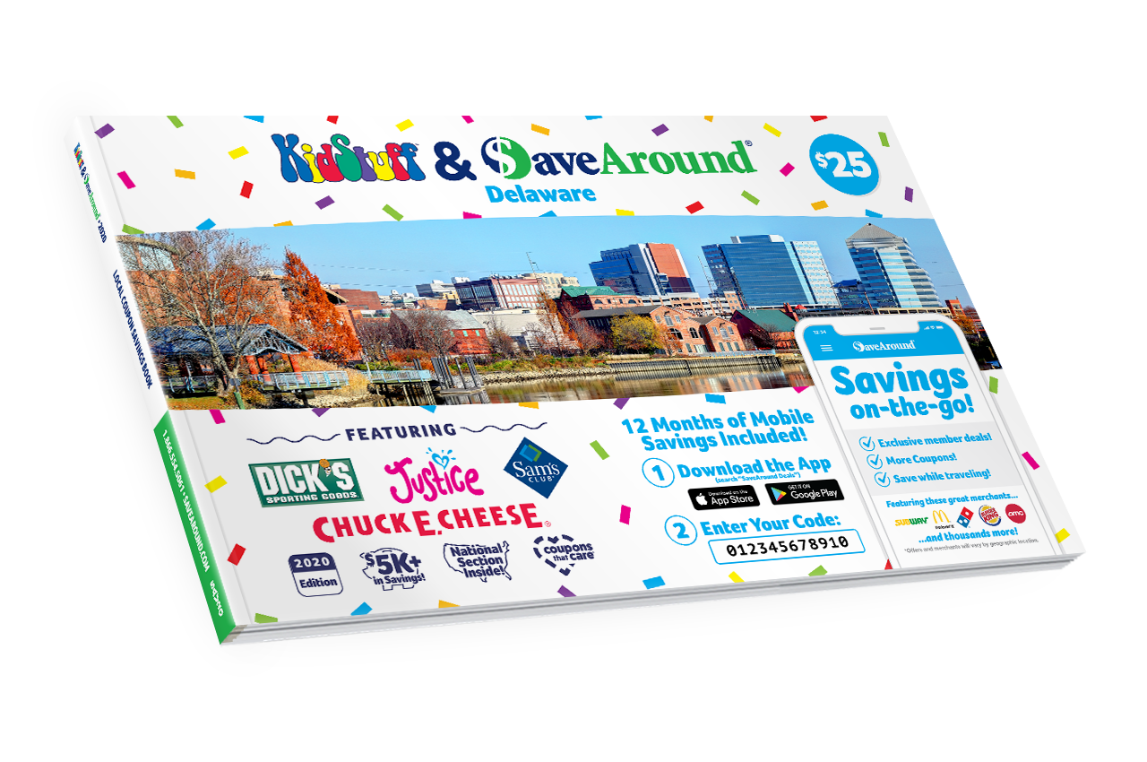 Northern Delaware, DE 2020 SaveAround® Coupon Book