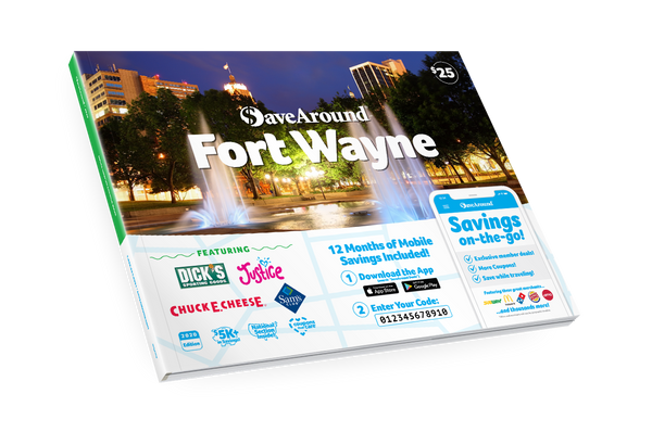 Fort Wayne, IN 2020 SaveAround® Coupon Book