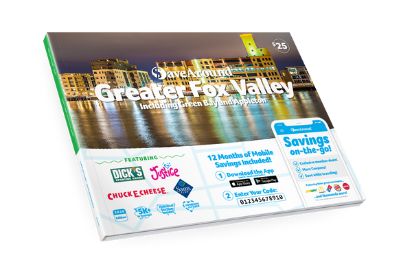 Greater Fox Valley, WI 2020 SaveAround<sup>®</sup> Coupon Book