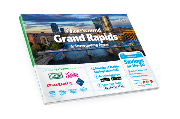 Grand Rapids & Surrounding Areas, MI 2020 SaveAround® Coupon Book