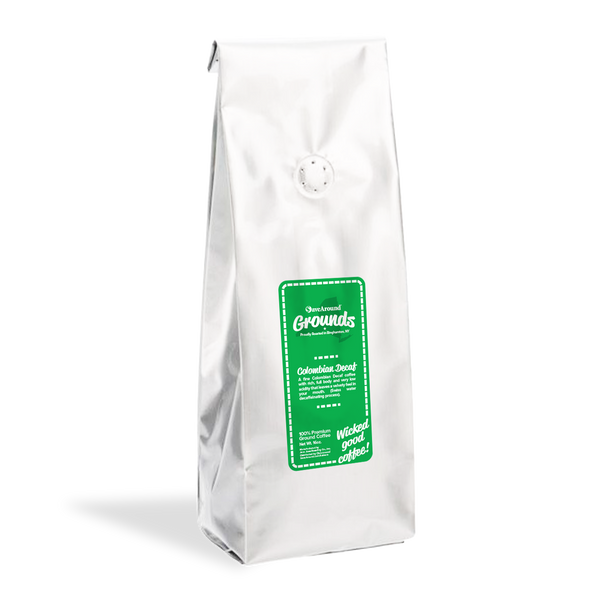 SaveAround® Grounds Colombian Decaf Premium Coffee