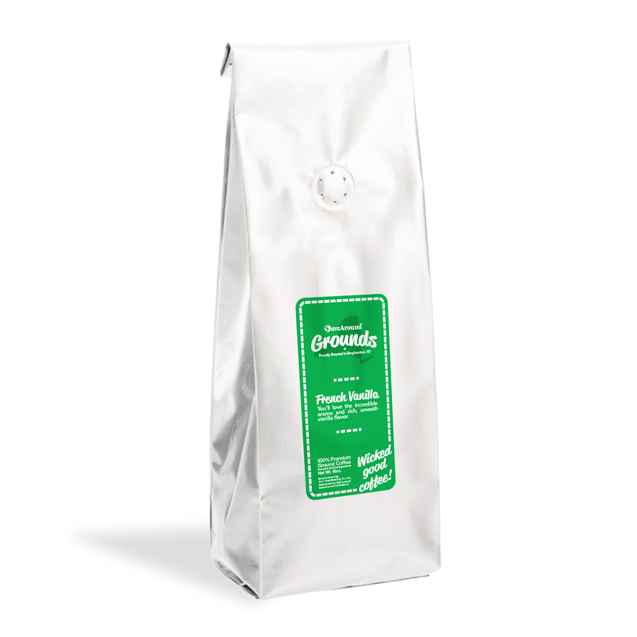 SaveAround® Grounds French Vanilla Premium Coffee