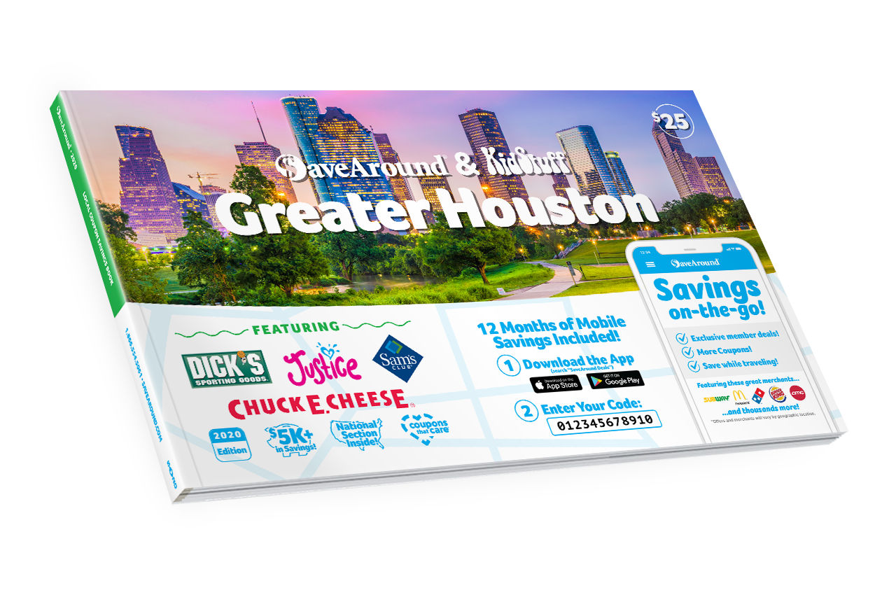 Greater Houston, TX 2020 SaveAround® Coupon Book