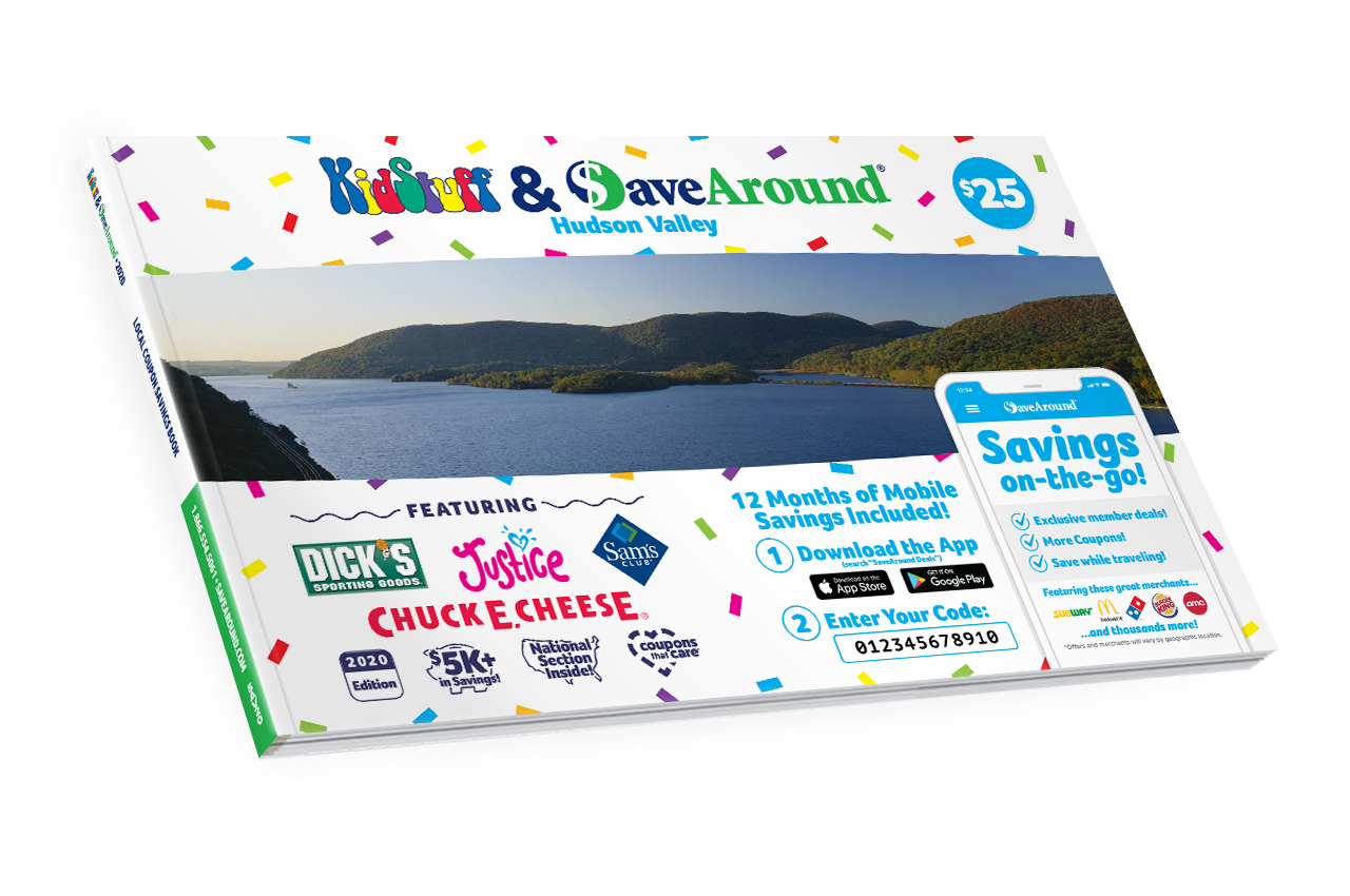 Hudson Valley, NY 2020 SaveAround® Coupon Book