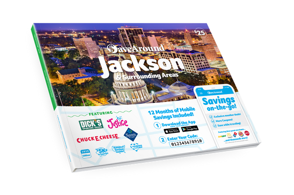 Jackson & Surrounding Areas, MS 2020 SaveAround® Coupon Book