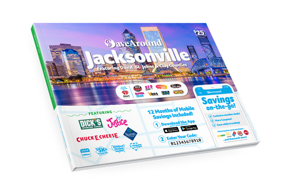Jacksonville, FL 2020 SaveAround® Coupon Book