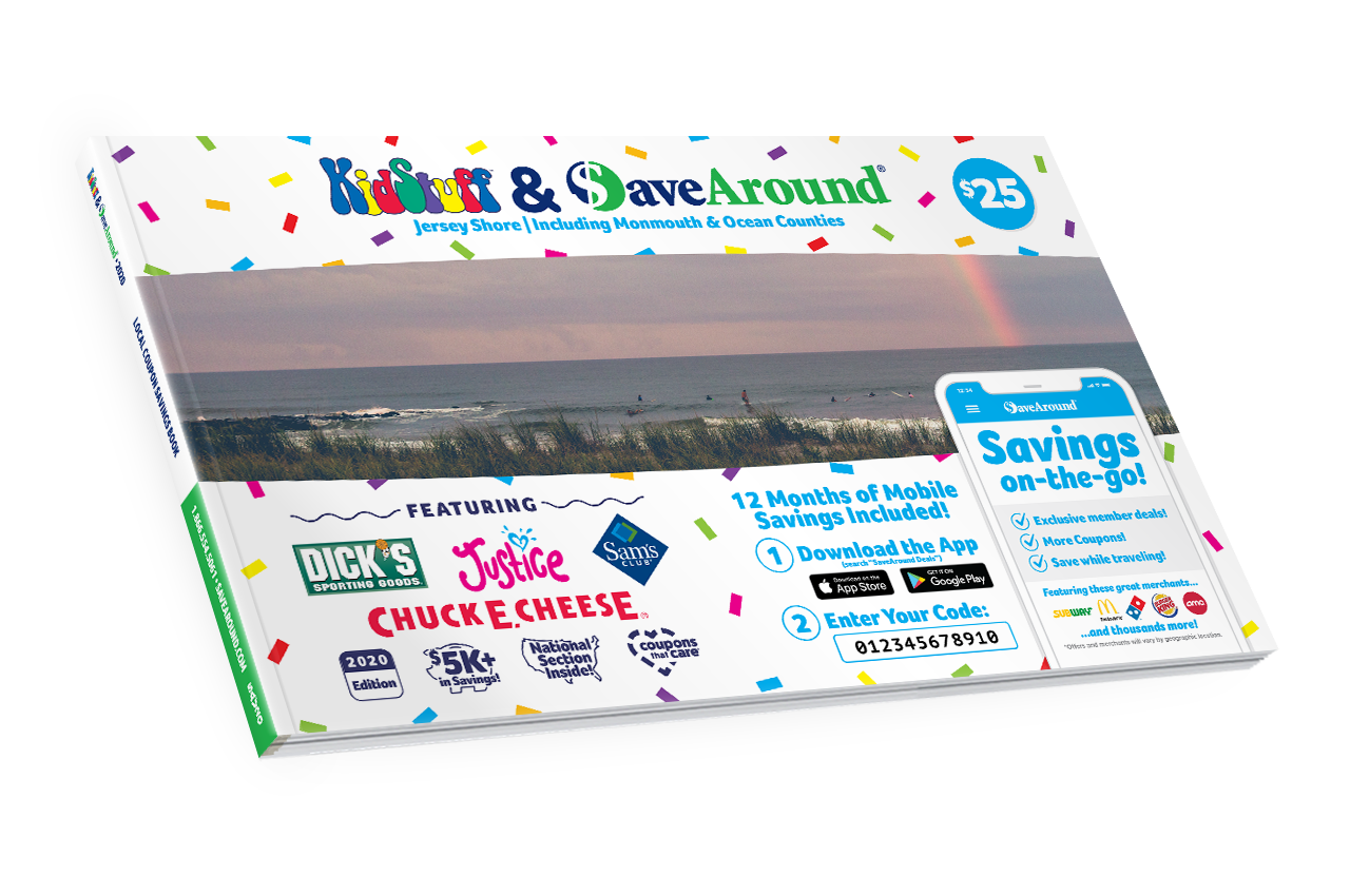 Jersey Shore, NJ 2020 SaveAround® Coupon Book