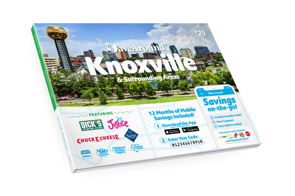 Knoxville & Surrounding Areas, TN 2020 SaveAround<sup>®</sup> Coupon Book