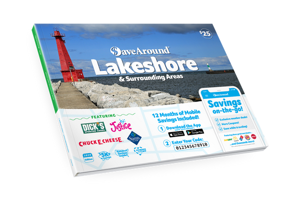 Lakeshore, MI 2020 SaveAround<sup>®</sup> Coupon Book