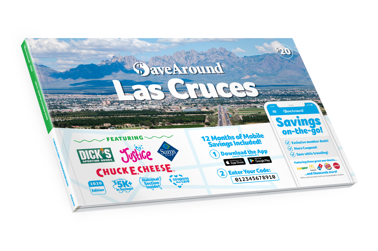Las Cruces, NM 2020 SaveAround® Coupon Book