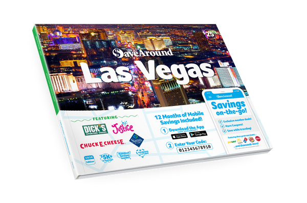 Las Vegas, NV 2020 SaveAround<sup>®</sup> Coupon Book