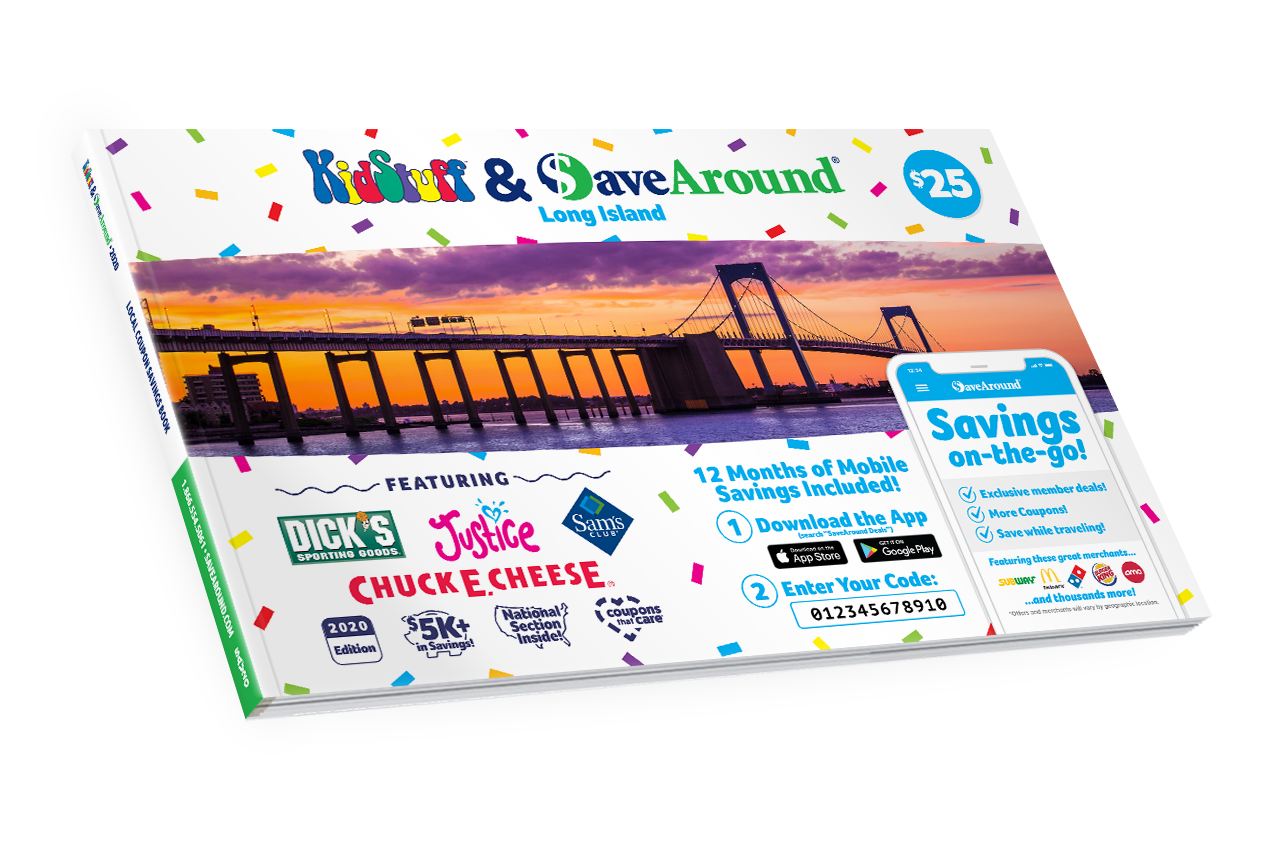 Long Island, NY 2020 SaveAround® Coupon Book