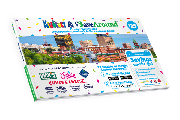 Greater Manchester, NH 2020 SaveAround® Coupon Book