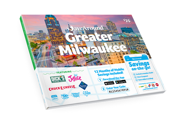 Greater Milwaukee, WI 2020 SaveAround<sup>®</sup> Coupon Book