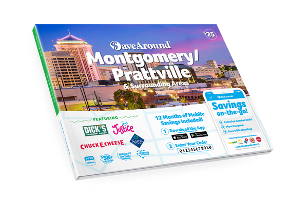 Montgomery/Prattville & Surr. Areas, AL 2020 SaveAround® Coupon Book