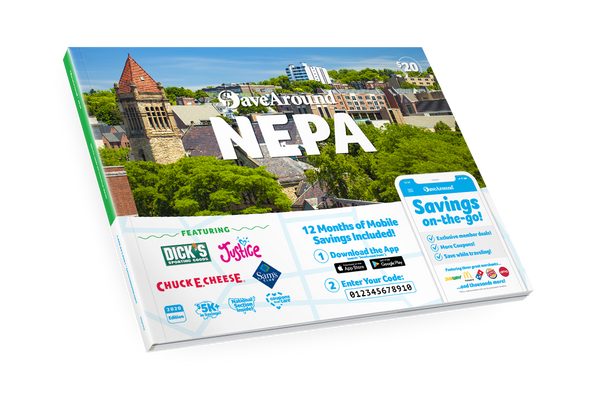 Northeastern, PA 2020 SaveAround® Coupon Book