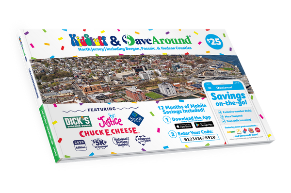 North Jersey, NJ 2020 SaveAround® Coupon Book
