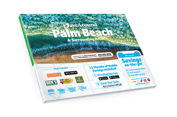 Palm Beach, FL 2020 SaveAround<sup>®</sup> Coupon Book