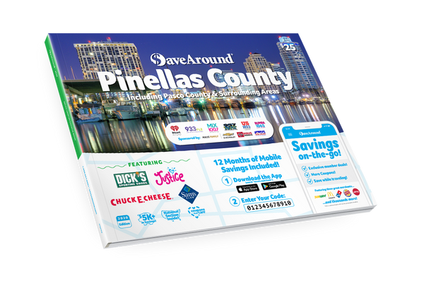 Pinellas County, FL 2020 SaveAround<sup>®</sup> Coupon Book