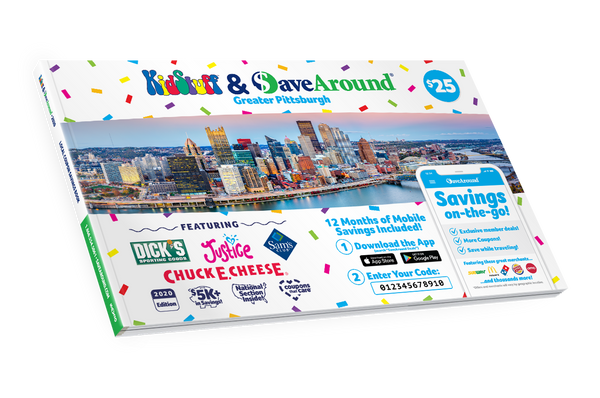 Greater Pittsburgh, PA 2020 SaveAround® Coupon Book