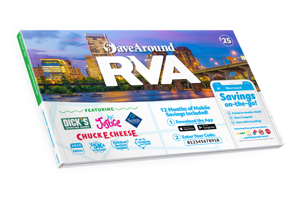 Richmond, VA 2020 SaveAround<sup>®</sup> Coupon Book