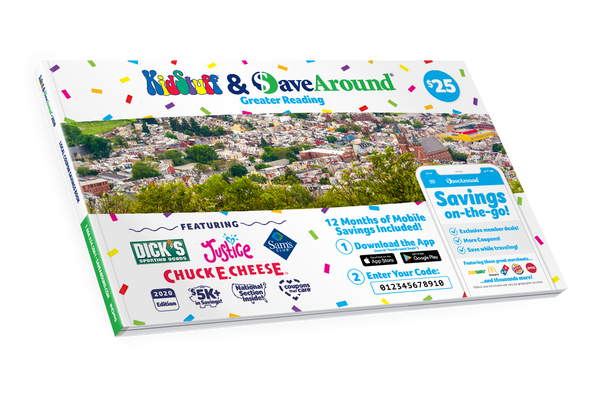 Greater Reading, PA 2020 SaveAround® Coupon Book