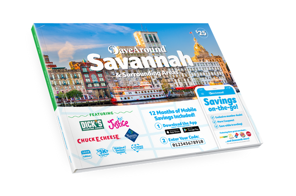 Savannah, GA 2020 SaveAround® Coupon Book