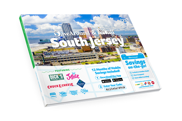 South Jersey, NJ 2020 SaveAround® Coupon Book