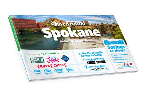 Spokane, WA 2020 SaveAround<sup>®</sup> Coupon Book
