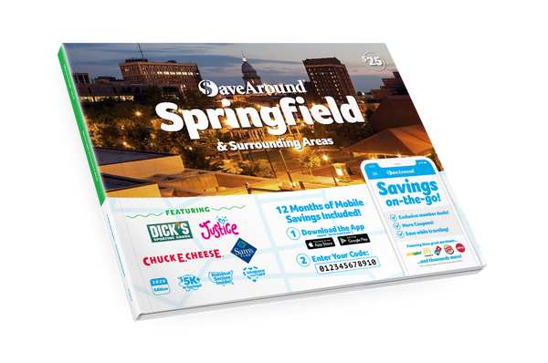 Springfield & Surrounding Areas, IL 2020 SaveAround<sup>®</sup> Coupon Book
