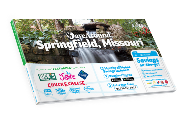 Springfield, MO 2020 SaveAround<sup>®</sup> Coupon Book