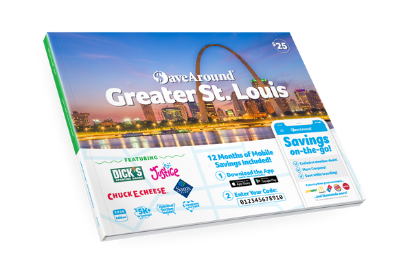 Greater St. Louis, MO 2020 SaveAround<sup>®</sup> Coupon Book